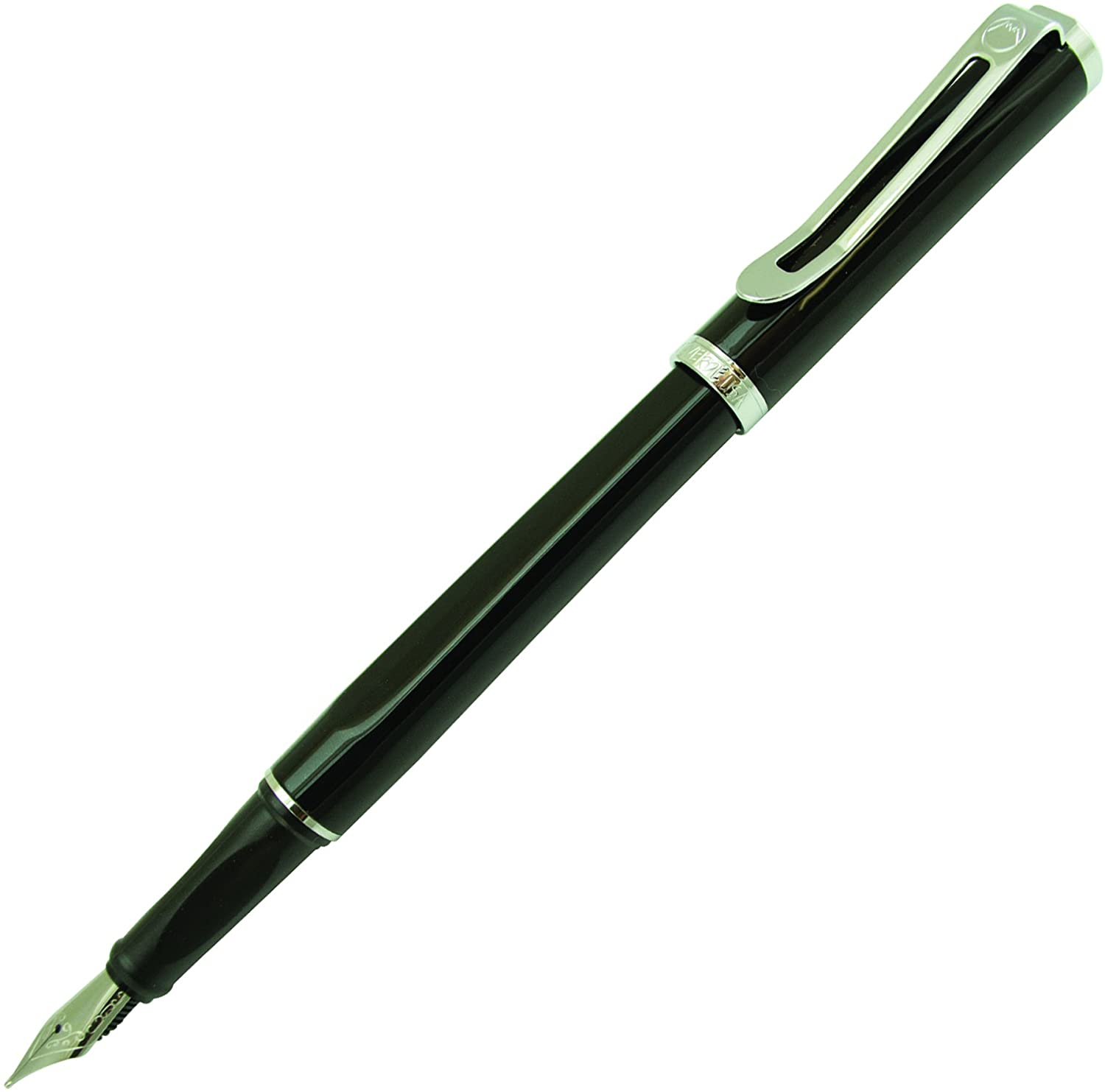 MONTEVERDE Limonada Fountain Pen Milano Black, Medium Nib (MV41443)