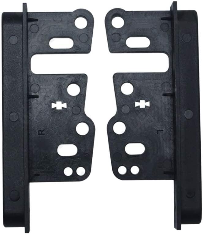 FairOnly Universal Bracket for Toy-OTA Double Din Stereo Panel Fascia Radio DVD Dash Mount Trim Kit Accessories