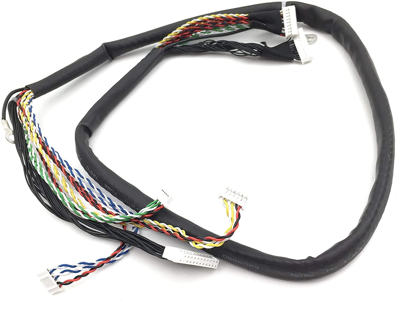 OKLILI Q7404-50007 ADF Cable Assy Harness Compatible with HP Laserjet Enterprise 500 MFP M525 M525dn M525f M525c M575 M575dn M575f M575c M521 M521dn