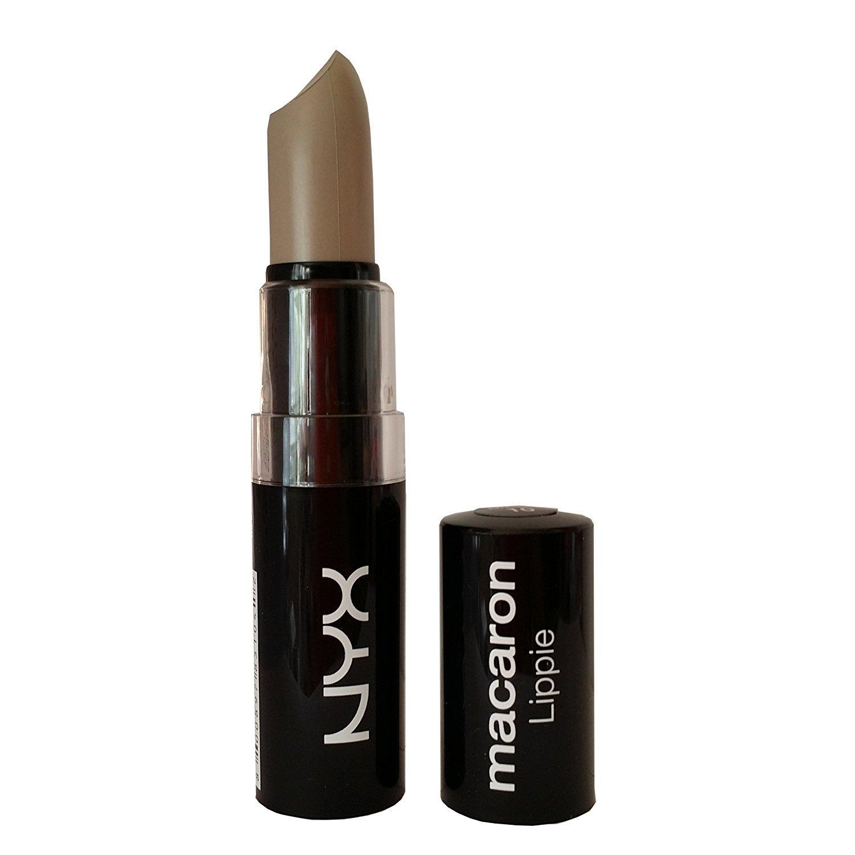 NYX Macaron Pastel Lippies Lipstick - Black Sesame : MALS10