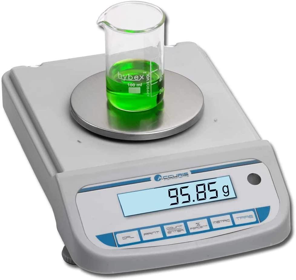 Accuris W3300-5K-E Compact Balance, 5000 grams, readability 0.1 grams, 230VAC