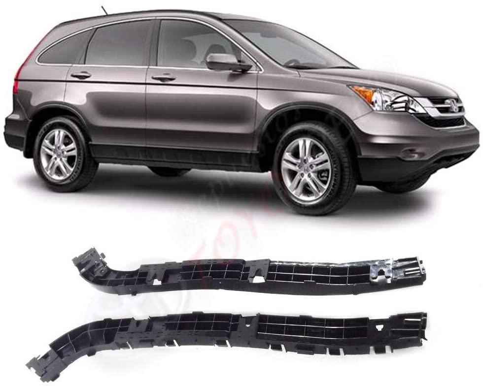 TOYOSPEED LLC LH RH Rear Bumper Support Bracket Set 2pcs Fit for Honda CRV 2007-2011