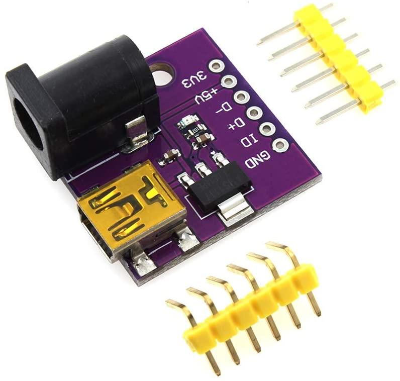 MADONG 5V Mini USB Power Connector DC Power Socket Board