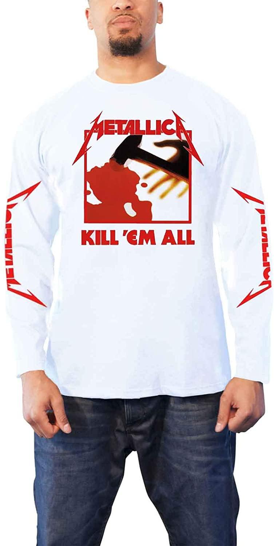 Metallica Kill Em All (White) Long Sleeve Shirt