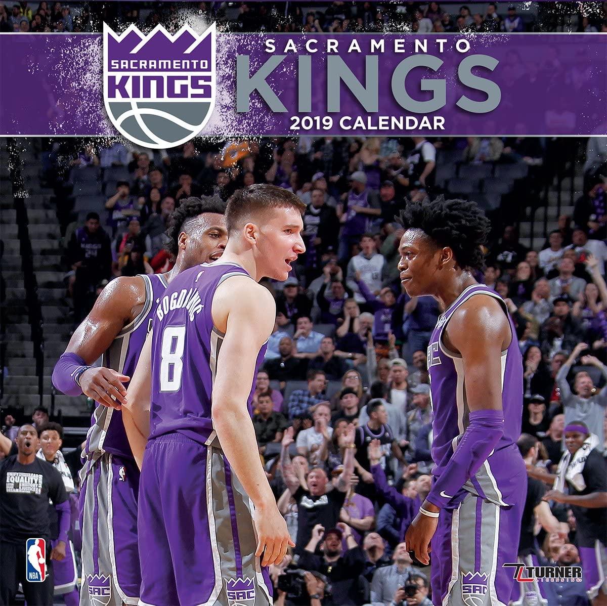 Turner Sport Sacramento Kings 2019 12X12 Team Wall Calendar Wall Calendar (19998011894)