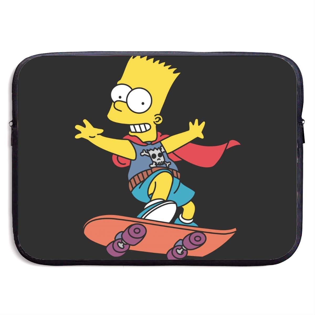 Simpson Laptop Bag, Laptop Case, Briefcase Messenger Shoulder Bag for Men Women 13 Inch