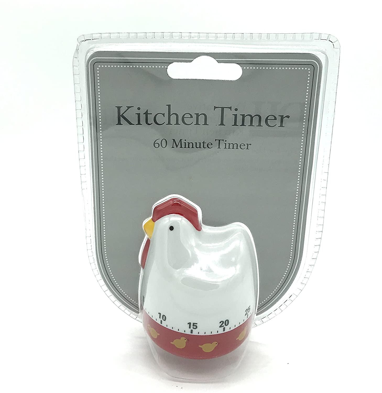 Whimsical Chicken 60 Minute Kitchen Timer