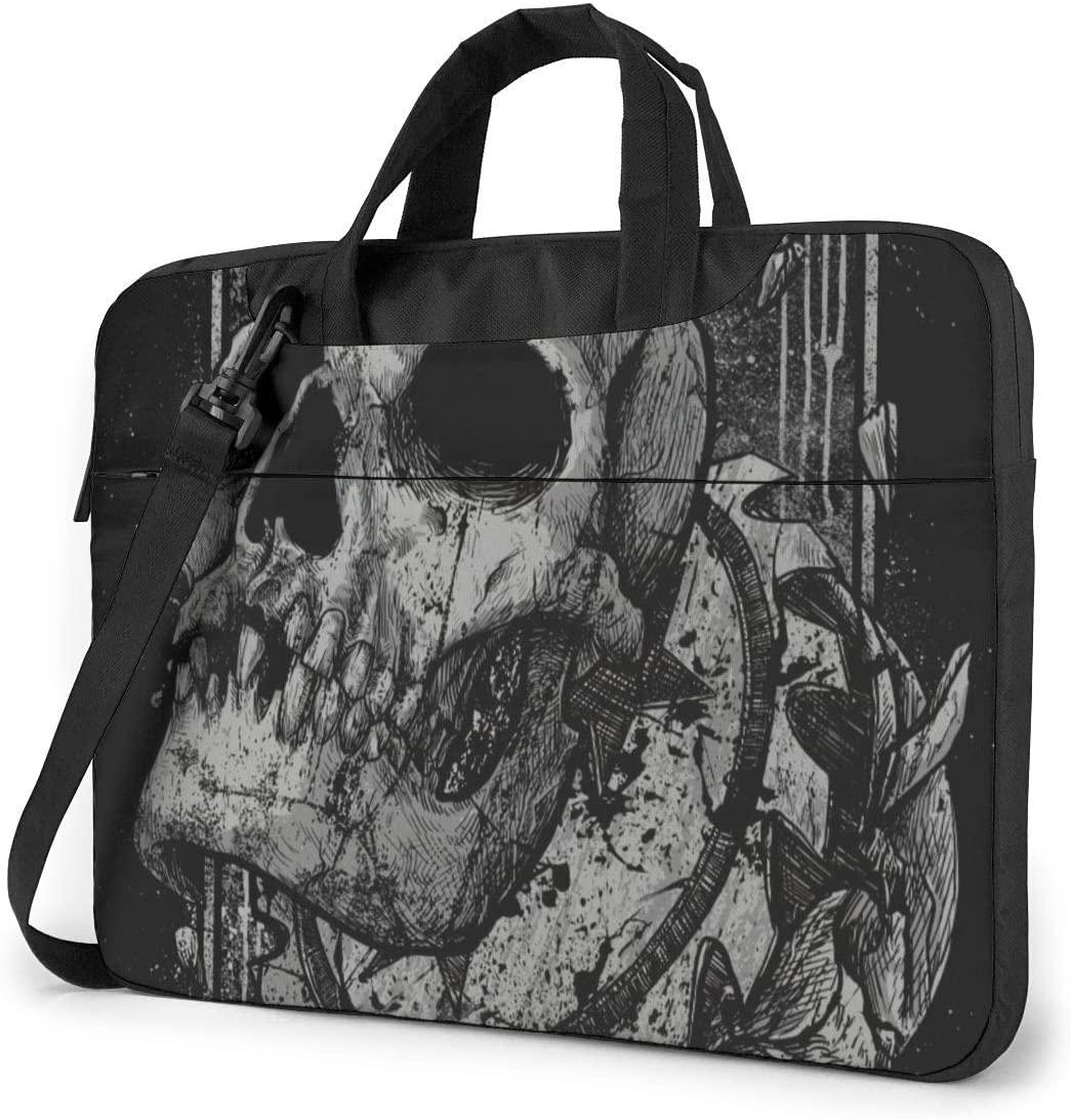 WHI-te-c-hapel Laptop Bag 15.6/14/13in Notebook Briefcase Handbag PC Tablet Protective Case