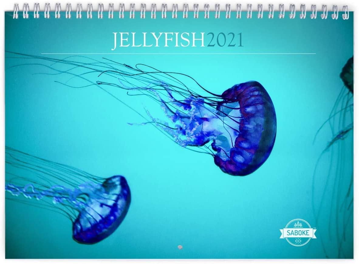 Jellyfish 2021 Wall Calendar