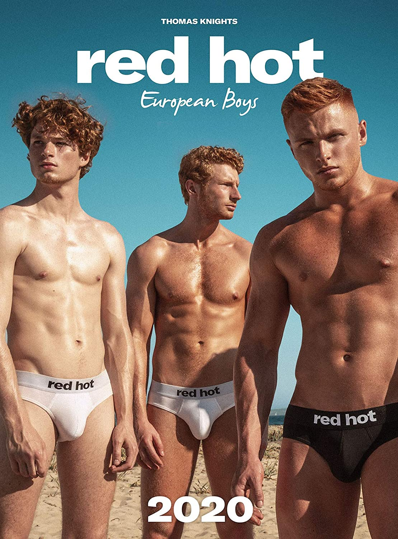 Red Hot European Boys 2020 Calendar