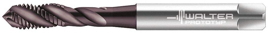 M4-0.70, Tap, Right Hand, Plug, 3 Flutes, High Speed Steel, Hard Lube Tap Finish