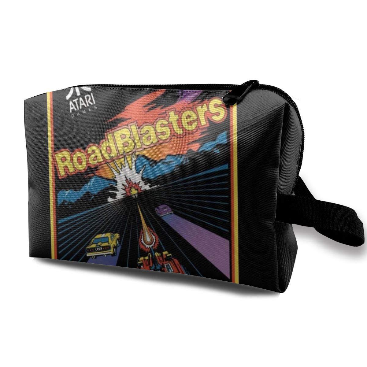 Makeup Bag Cosmetic Pouch RoadBlasters Cover Art Multi-Functional Bag Travel Kit Storage Bag