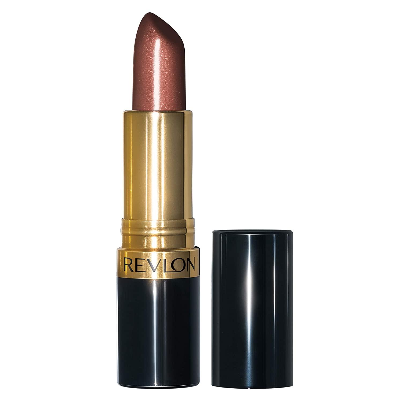Revlon Super Lustrous Lipstick with Vitamin E and Avocado Oil, Pearl Lipstick in Mauve, 245 Smoky Rose, 0.15 oz