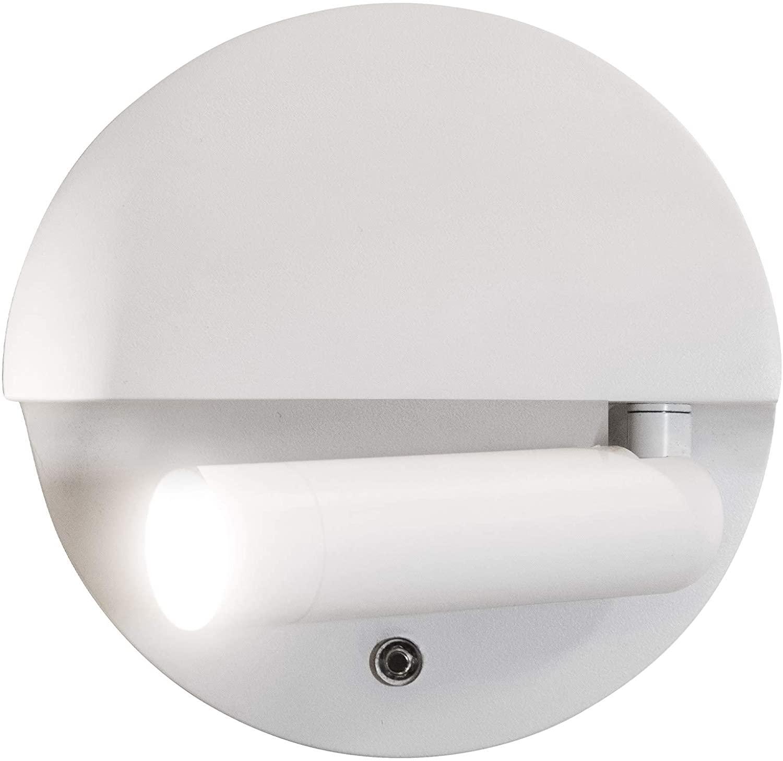 Scout LED Left Side Adjustable LED Reading Light 3000K in White