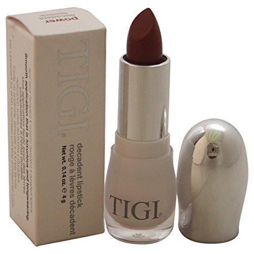 TIGI Decadent Lipstick for Women, Power, 0.14 Ounce Lipstick