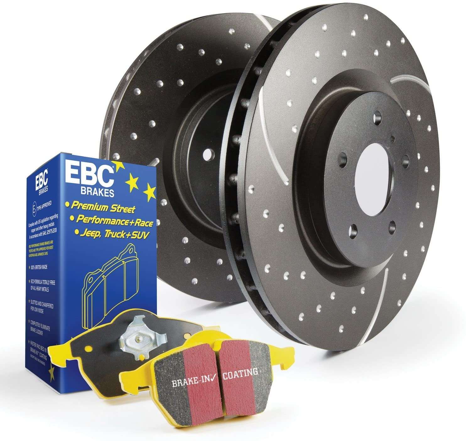 EBC S5KF1191 Stage-5 Superstreet Brake Kit