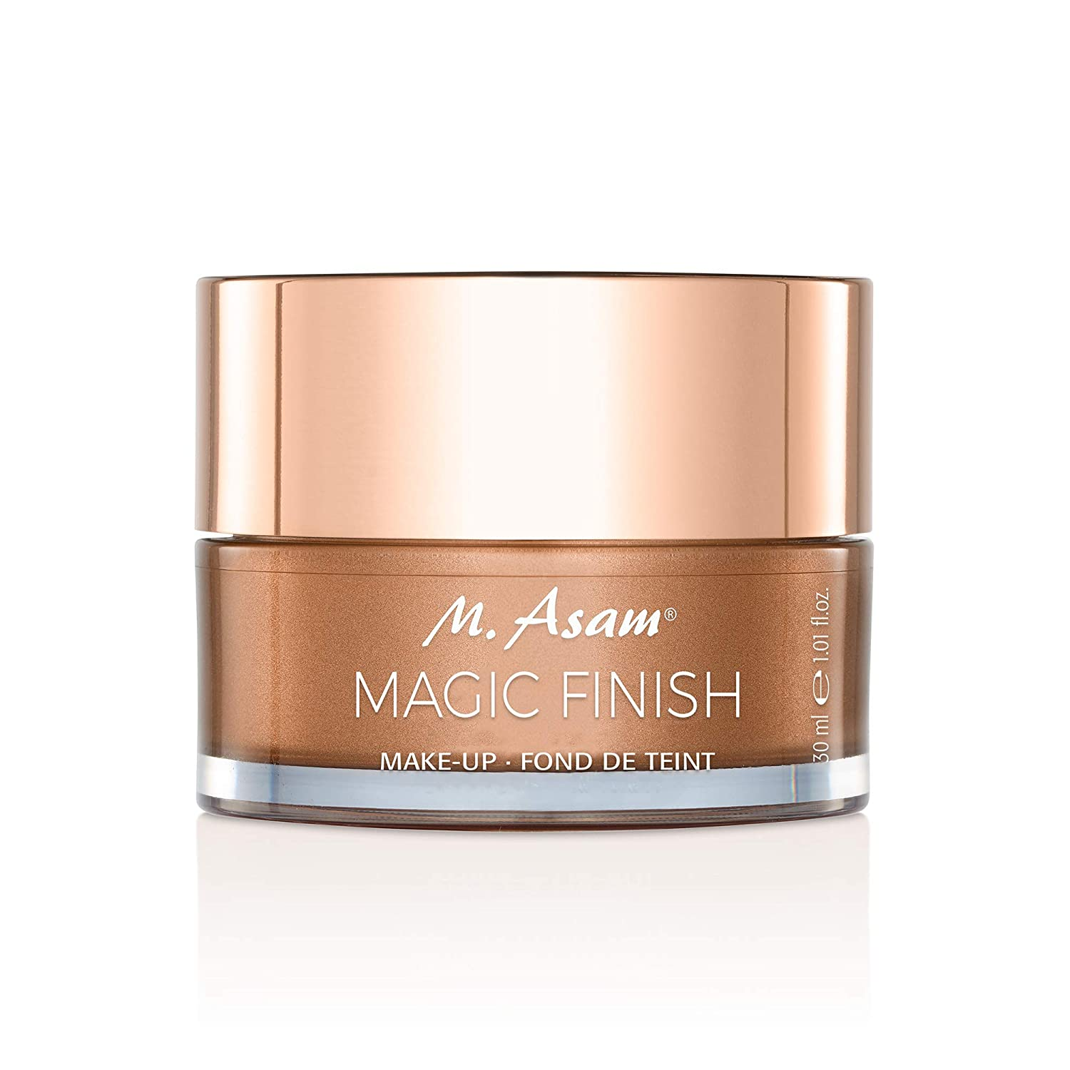 M. Asam, Magic Finish, Lightweight, Wrinkle-Filling Makeup Mousse, 4-In-1, Primer, Concealer, Foundation and Powder - 1.01 Ounce (30 ML)