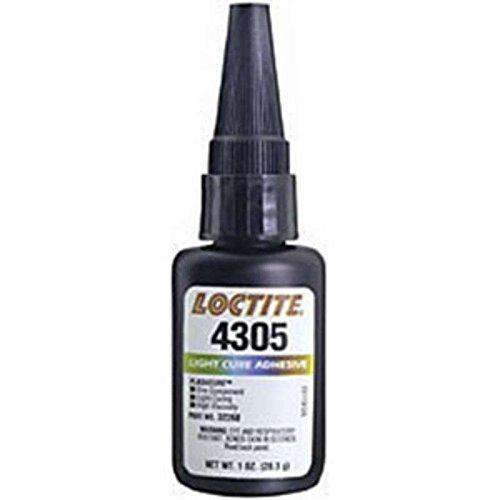 4305 Flashcure Light Cure Instant Adhesive, 1 oz Bottle