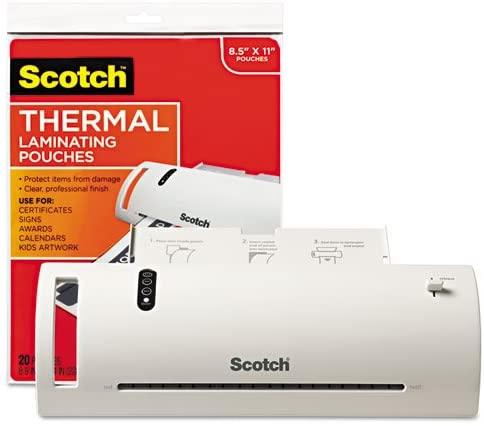 Scotch - Thermal Laminator Value Pack, 9