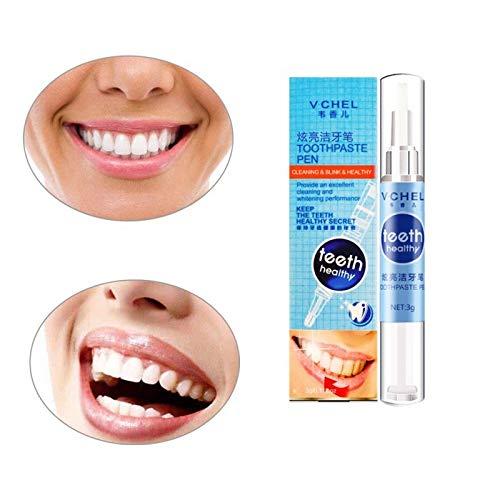 1 Pc Gel Bleach Dental Stain Remover Brighten Teeth Whitening Pen Oral Care Tool