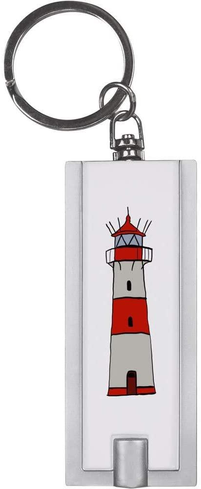 Azeeda 'Lighthouse' Keyring LED Torch (KT00016723)