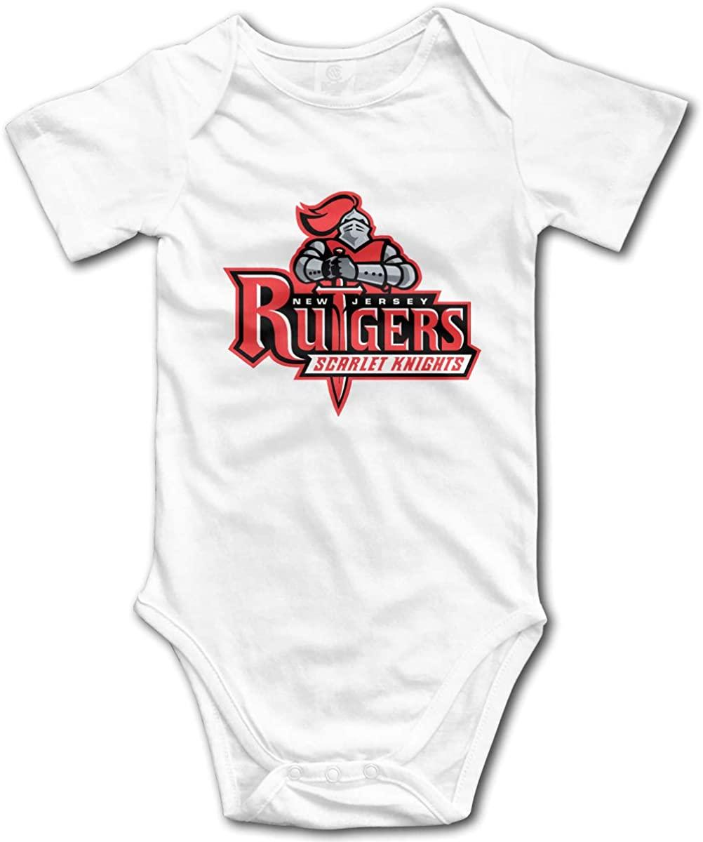 JOELEWIS Baby Boys & Girls Unisex Rutgers U University Funny Romper Outfits Onesies Bodysuits One-Piece