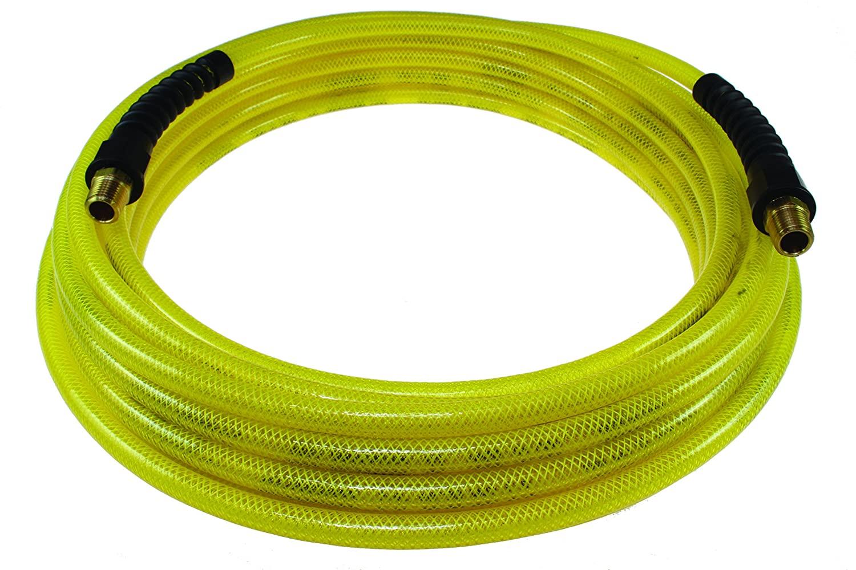 Coilhose Pneumatics PFE60254TY Flexeel Reinforced Polyurethane Air Hose, 3/8