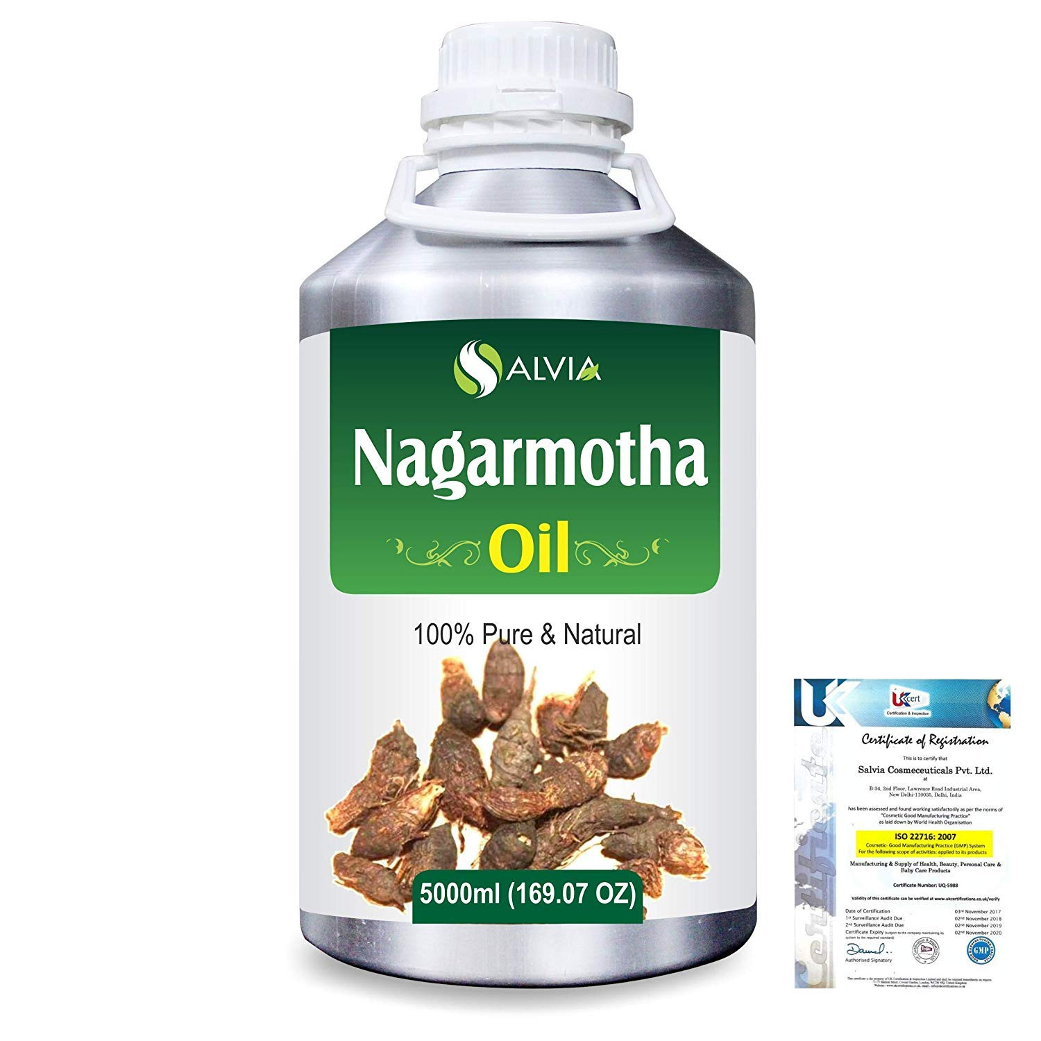 Nagarmotha (Cyprus Scariosus) Pure Natural Aromatherapy Therapeutic Uncut Undiluted Essential Oil 5000ml/169 fl. oz. Express Shipping