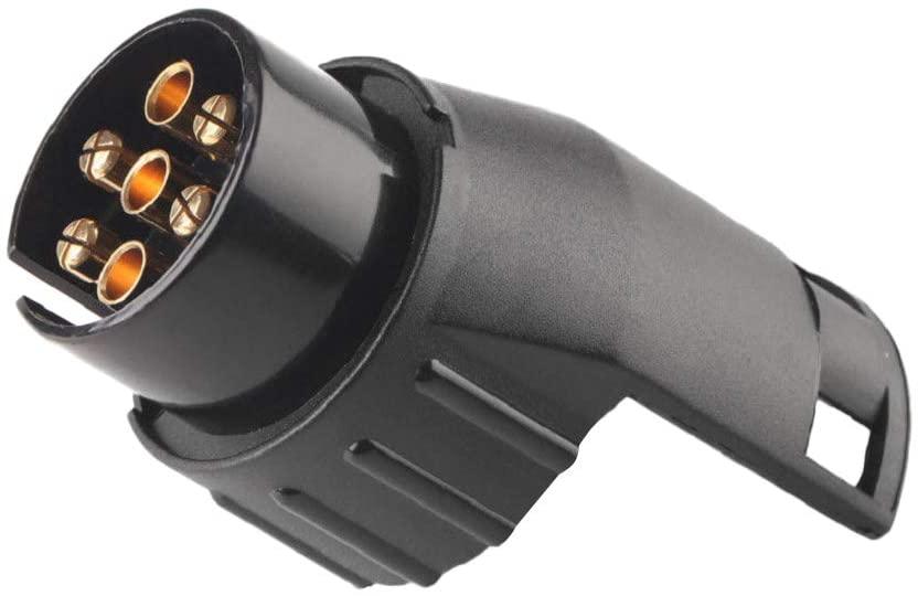 prasku 7 to 13Pin Trailer Caravan Towbar Towing Adaptor Converter Connector