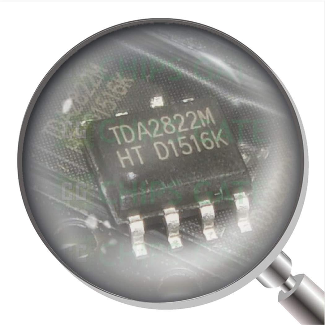 60Pcs TDA2822M Tda2822 Dual Low Voltage Power Amplifier Dip