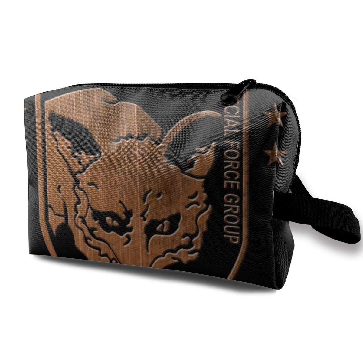 Makeup Bag Cosmetic Pouch Foxhound Special Forces Group Metal Gear Solid Multi-Functional Bag Travel Kit