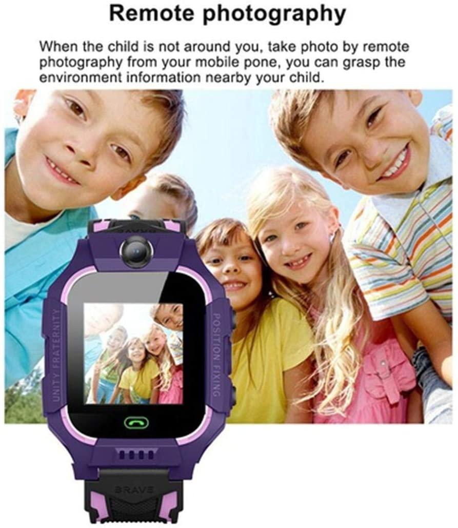 kentew Children Fashion Waterproof Calling Positioning Photo-Taking Smartwatch Gift Smart Watches