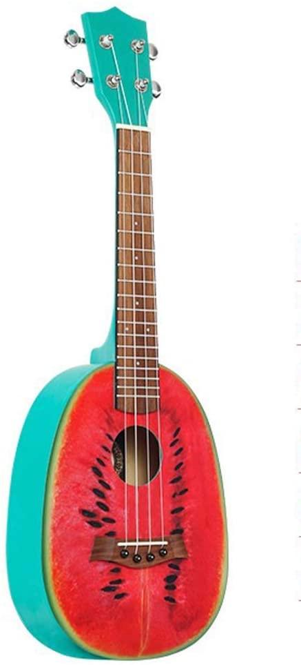 Beginner 23 Inch Student Watermelon Cartoon Children Men and Women Uklele Guitar Instrument