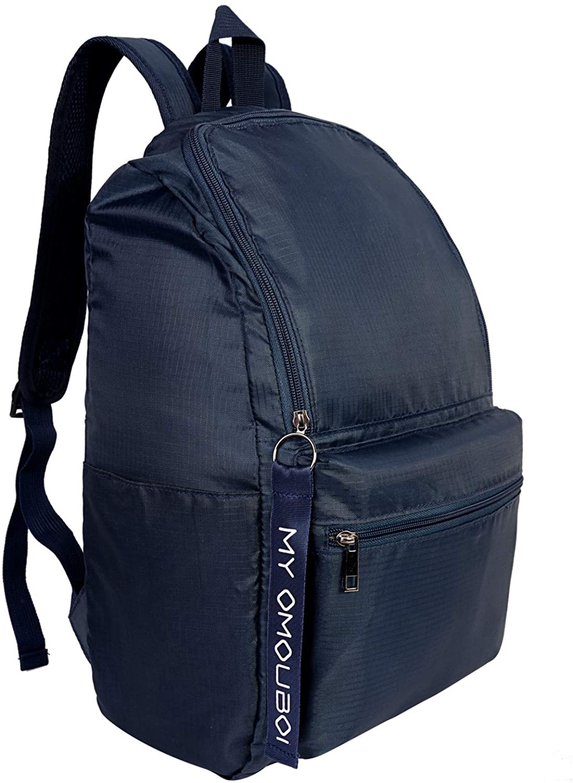 Backpack for Men and Women, OMOUBOI 14 Inch Waterproof Laptop School Book Bag