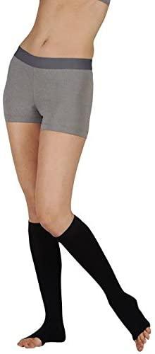 15-20 mmHg, Soft, Knee, OT, Silicone, Navy