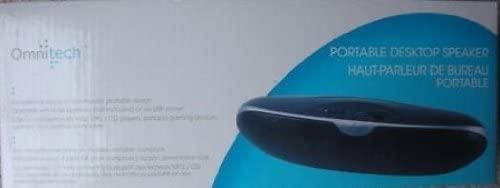 Omnitech Portable Desktop Speaker