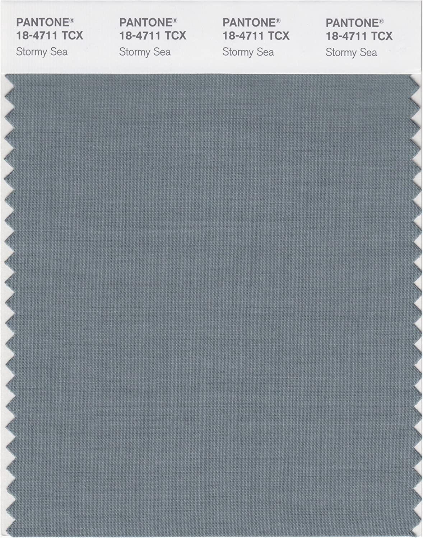 PANTONE Smart 18-4711X Color Swatch Card, Stormy Sea