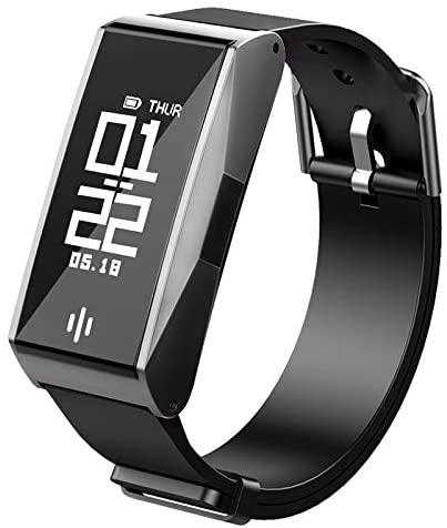 WANGDD Smart Bracelet Blood Pressure Heart Rate Bluetooth Waterproof Sports Steps Silicone Bracelet