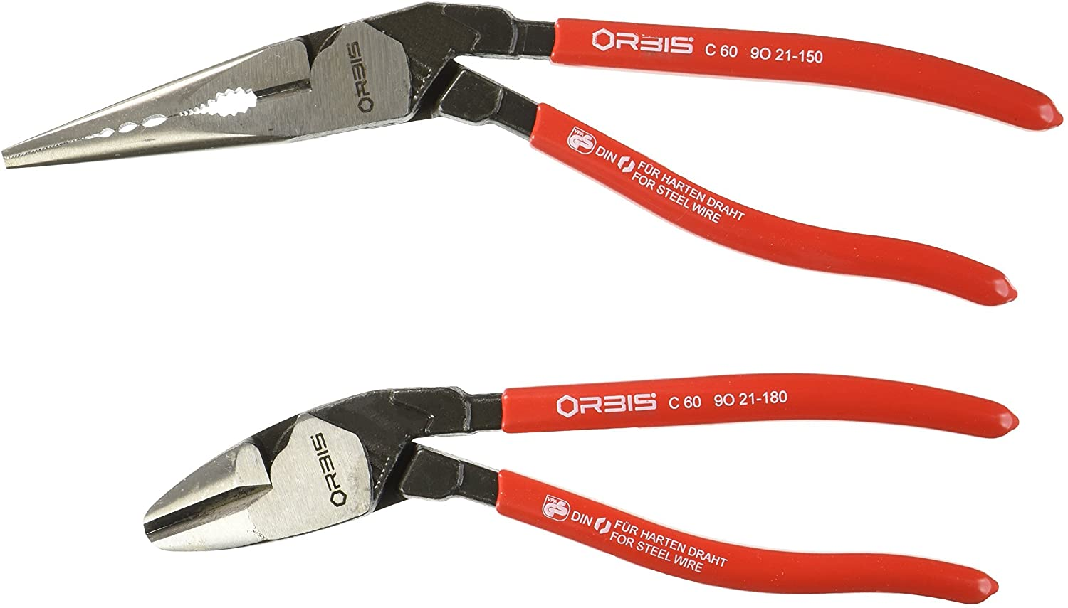 Grip On KNP9K008097US Pliers Set (Orbis 2-Piece Angled)