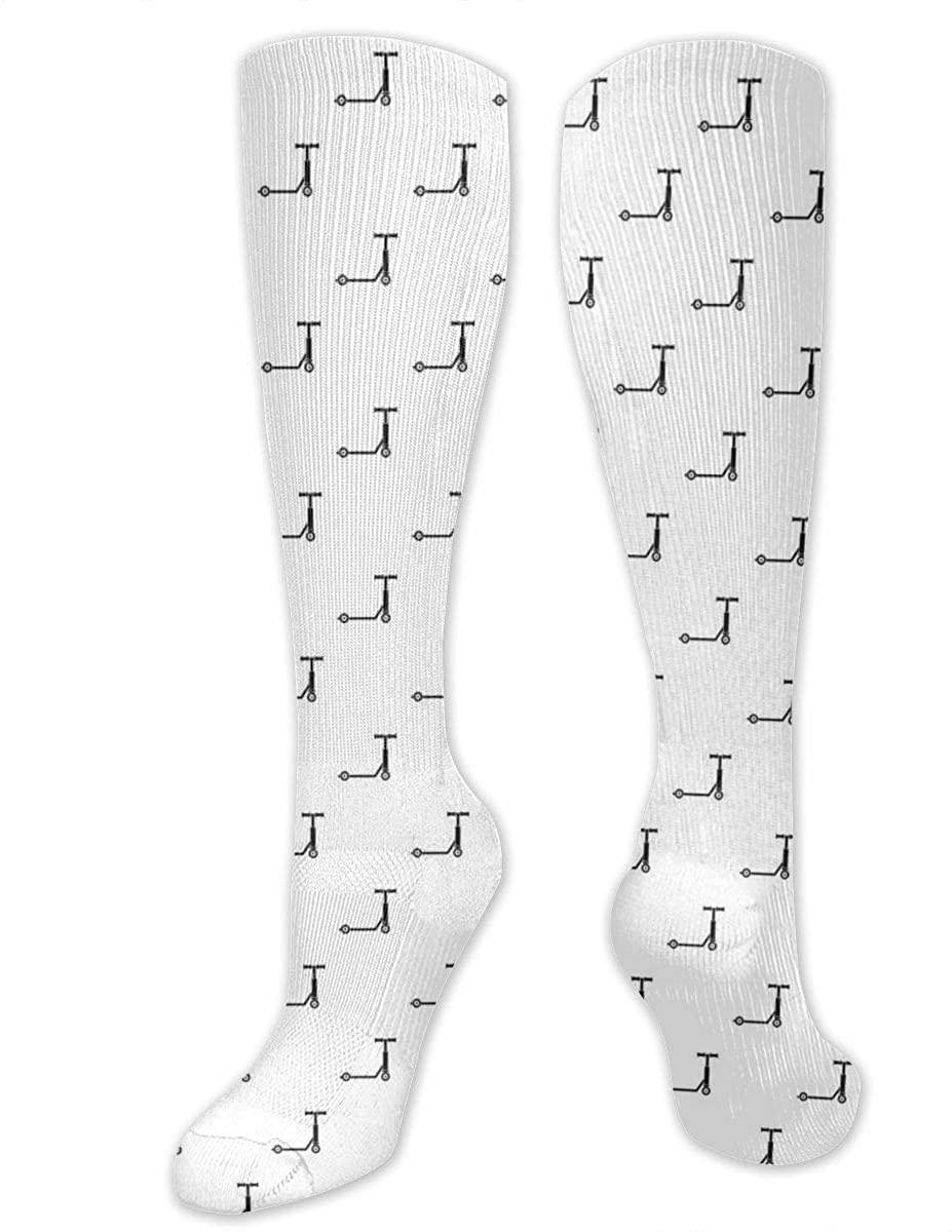 Stunt Scooter Athletic Socks Thigh Stockings Over Knee Leg High Socks