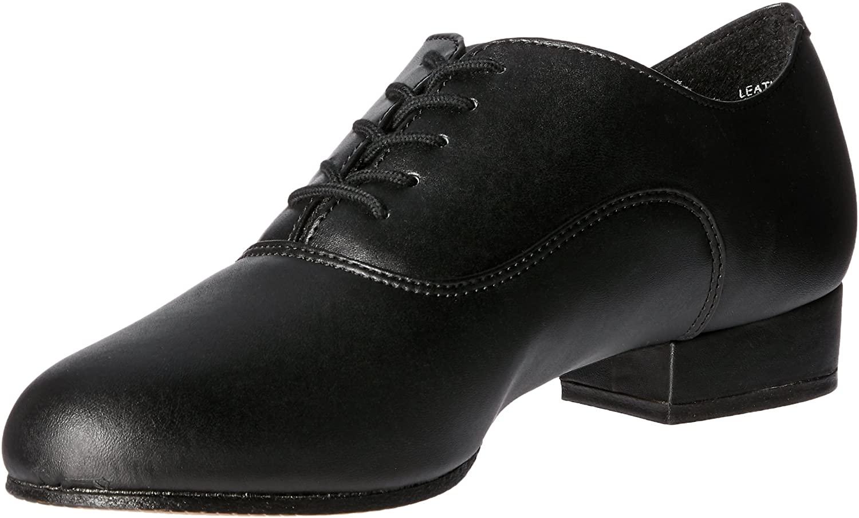 Capezio Overture Oxford - Size 9.5M, Black
