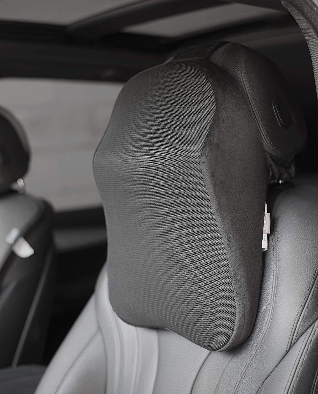 Sojoy Patented Universal Ergonomic Streamlining Car Seat/Cushion Lumbar and Neck Support (17x12x5)