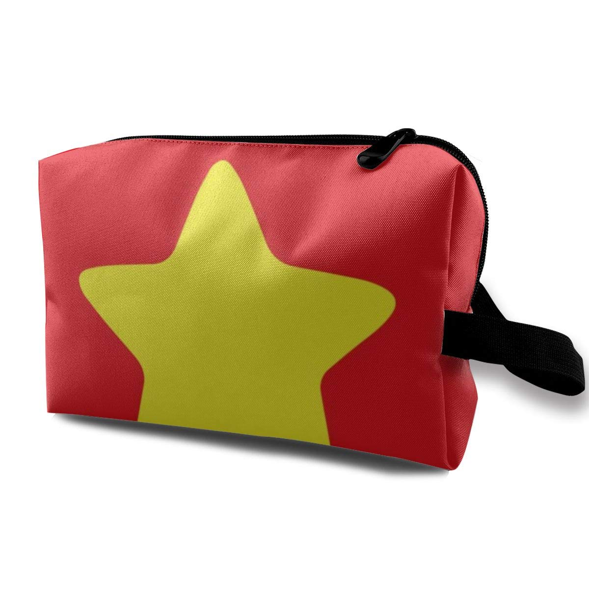 Makeup Bag Cosmetic Pouch Steven Universe Yellow Star, Trucker Cap Multi-Functional Bag Travel Kit Storage Bag