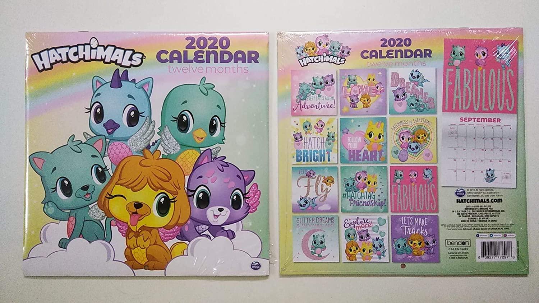 Hatchimal 2020 Monthly Calendar - Twelve Months/Year 10