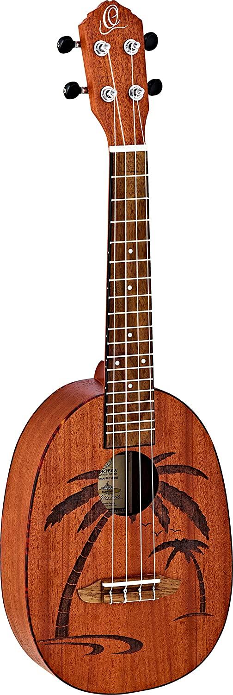 Ortega Guitars Bonfire Series, 4-String Ukulele, Right (RUPA5MM)