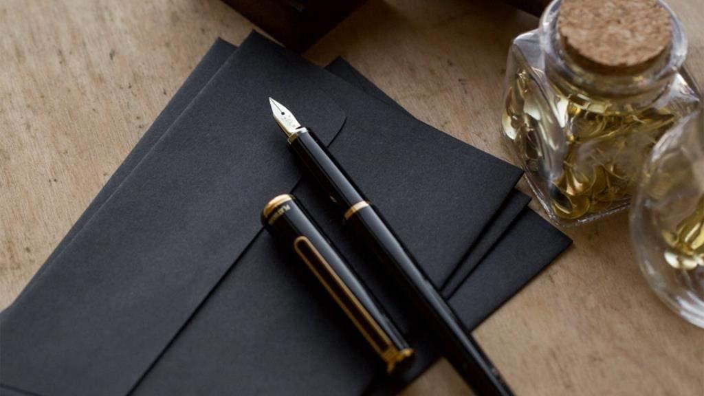 Platinum Fountain pen PTL-5000A 14k Gold Fine point Black