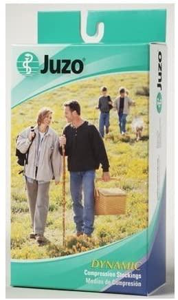 Juzo Soft 2002AD Open Toe Knee High (30-40 mmHg), Knee, Black , IV