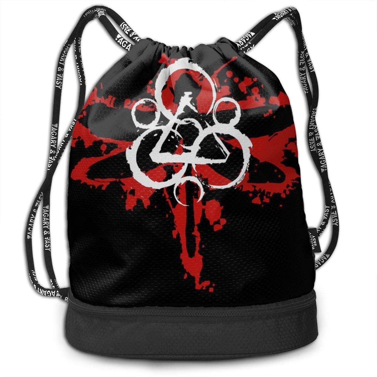 Coheed And Cambria Drawstring Backpack Bag Sport Gym Sackpack Unisex Short Trip Bundle Backpack