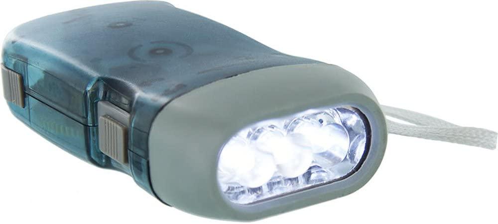 3 LED Dynamo Wind up Flashlight Nr Camping Torch Light