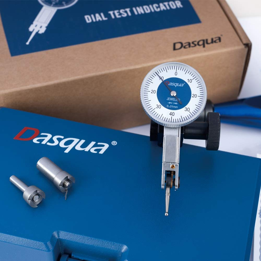 Dasqua 5221-0005 .8 X .01mm X 30mm Face Shock Resistant Dial Test Indicator